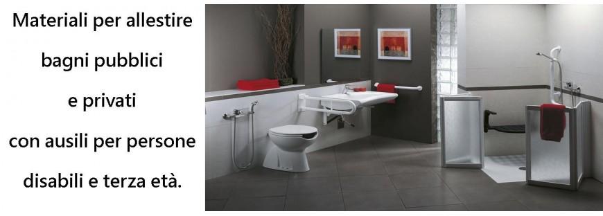 Sanitari disabili. Rivendita ausili per disabili bagno maniglioni ...
