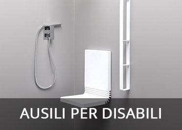 Ausili in bagno per disabili