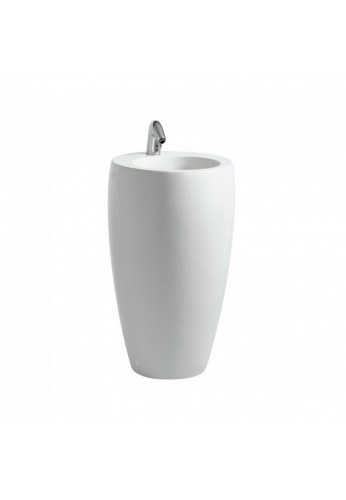 Laufen alessi one lavabo con colonna integrata cm - Lavabo con colonna ...