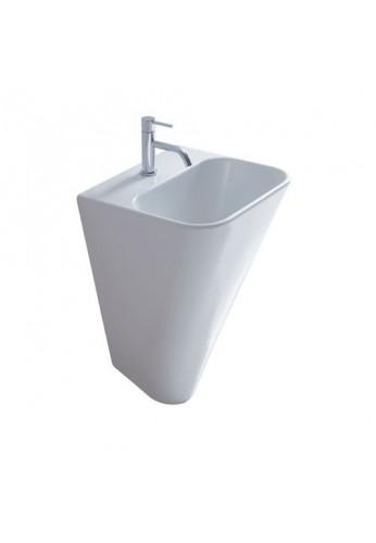 galassia - meg 11 lavabo sospeso cm 45x40, monoforo compra ... - Galassia Arredo Bagno