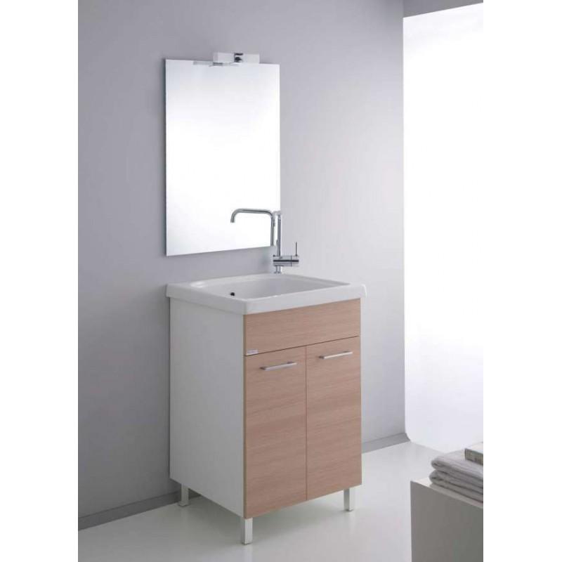 Elleemmeci composizione bagno 248 lavanderia medusa - Mobile bagno rovere sbiancato ...