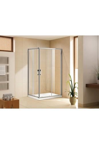 Osb gemini box doccia ad angolo compra chiusura doccia - Porte scorrevoli ad angolo ...