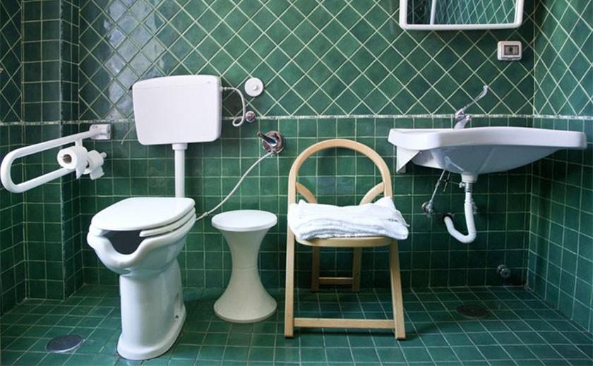 Bagno per disabili consigli progettazione normativa - Normativa bagno disabili ...